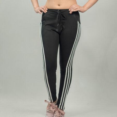 sandshark-black-White-Lines-jogger-ladies
